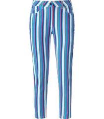 enkellange jeans in extra smal five-pocketsmodel van looxent multicolour