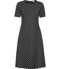 pinstripe f&f knee dress ss dresses everyday dresses svart tommy hilfiger