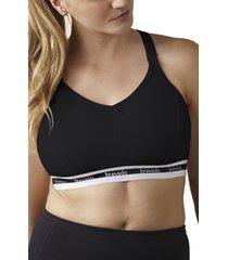 women's bravado designs original full cup nursing bra, size small - black