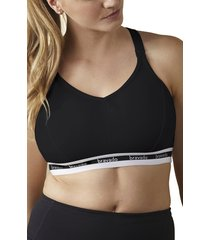 women's bravado designs original full cup nursing bra, size x-large - black