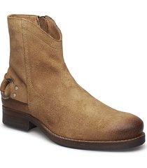 imperial shoes boots ankle boots ankle boots flat heel brun sneaky steve