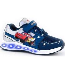 zapatilla azul footy cars mcqueen
