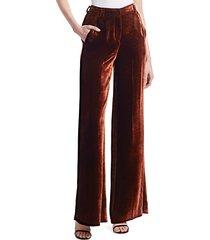 ashbury velvet pants
