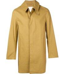 mackintosh autumn bonded cotton short coat gr-002 - neutrals