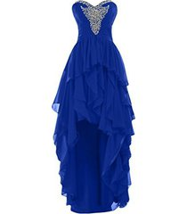 blevla high low chiffon prom party dress evening party gown royal blue us 26 ...