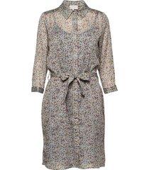 inaya shirt dress jurk knielengte multi/patroon minus