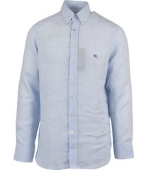 fay botton down stretch shirt