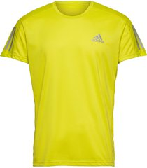 own the run tee t-shirts short-sleeved gul adidas performance