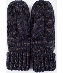 darra knit mittens - ivory