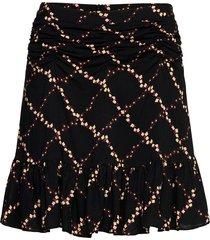 louis skirt kort kjol svart second female