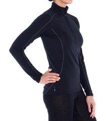 jaqueta segunda peletérmica zíper x-thero® air solo feminina