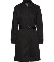 sol trench coat trenchcoat lange jas zwart soft rebels