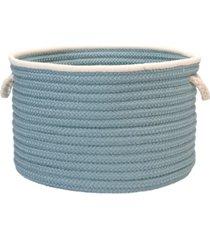 doodle edge braided storage basket