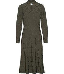 muskati jurk knielengte groen tiger of sweden