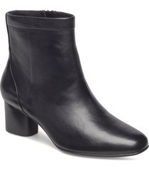un cosmo up shoes boots ankle boots ankle boots with heel svart clarks