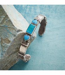 heart and hands cuff bracelet