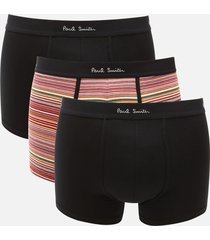 ps paul smith men's 3 pack trunk boxer shorts - multi - xl