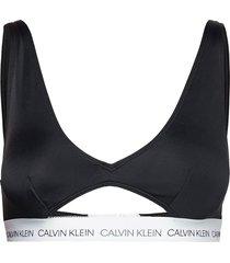 high apex triangle-rp bikinitop svart calvin klein