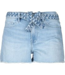 frame denim shorts