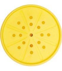 espremedor de citricos em silicone oxo amarelo