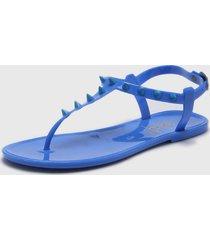 sandalia azul muaa sunny