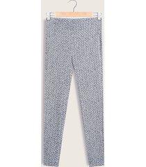 leggings azul-blanco patprimo