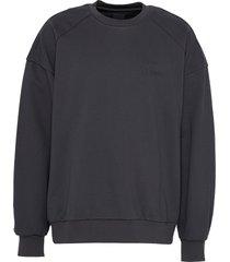 photographic slogan print sweatshirt
