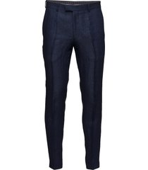 denz trousers casual byxor vardsgsbyxor blå oscar jacobson