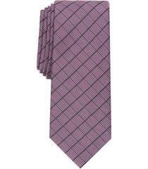alfani men's vendetta grid tie, created for macy's