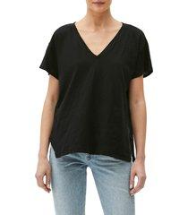 michael stars remy v-neck t-shirt in black at nordstrom