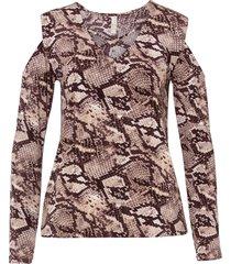 maglia a maniche lunghe (marrone) - bodyflirt boutique