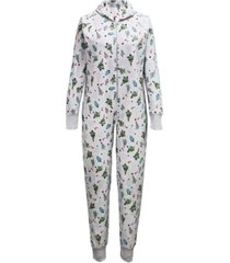 matching women's festive trees onesie family pajamas, created for macy's