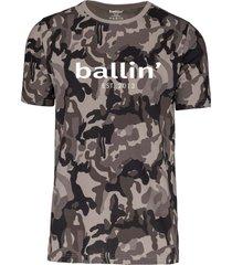 ballin est. 2013 camouflage shirt