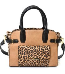 imoshion handbags women's leopard print satchel