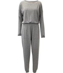 jenni knit one piece pajama jumpsuit, created for macy's
