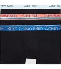 boxer cotton stretch limited edition trunk 3pk negro calvin klein