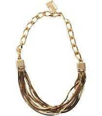 art deco short necklace