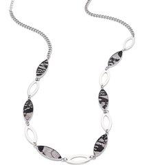 lane bryant women's lace necklace onesz black