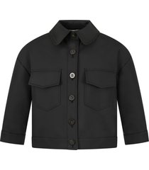 simonetta black jacket for girl