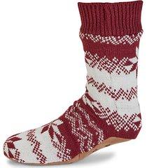fair isle slipper socks