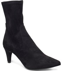 kenji_stl shoes boots ankle boots ankle boots with heel svart unisa