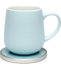 kopi mug & warmer set, size one size - blue