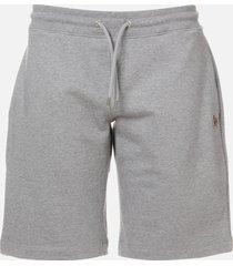 ps paul smith men's sweat shorts - melange grey - l