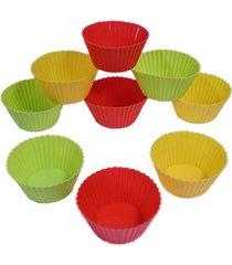 12 formas para muffin de silicone 7cm kenya