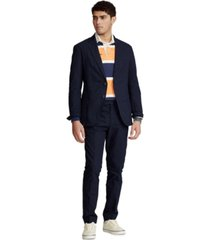 polo ralph lauren men's garment-dyed oxford sport coat