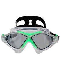 máscara de mergulho speedo omega endurance verde