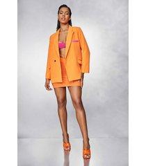 super oversized blazer, orange