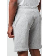 a.p.c. men's item shorts - heathered light grey - l