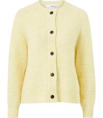 cardigan slflulu ls knit short cardigan b
