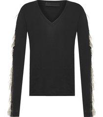 camiseta feminina ilhéus ab - preto